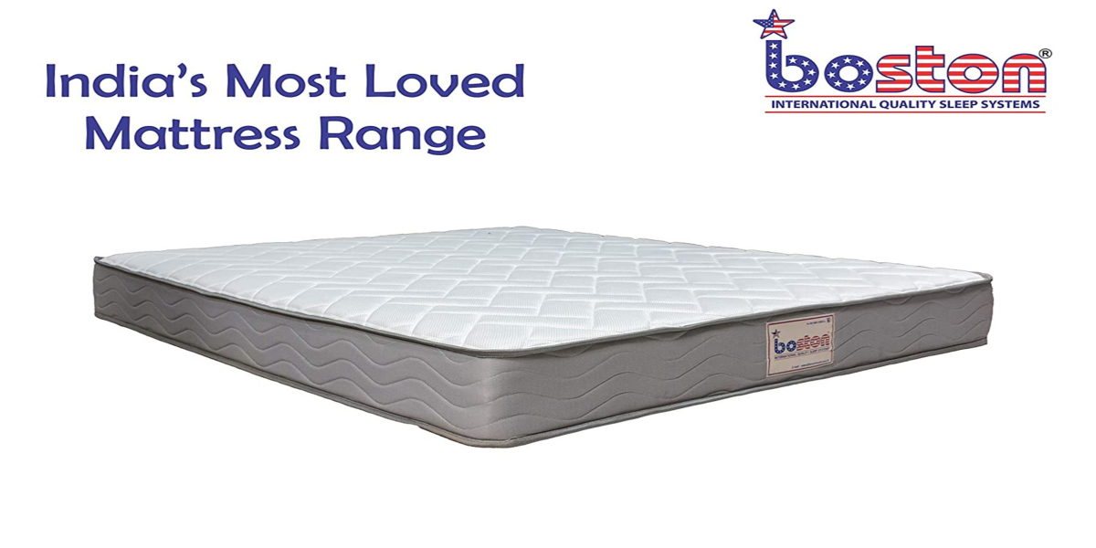 Boston Hotel Comfort 4 Inch Orthopedic HR Foam Single Size Mattress