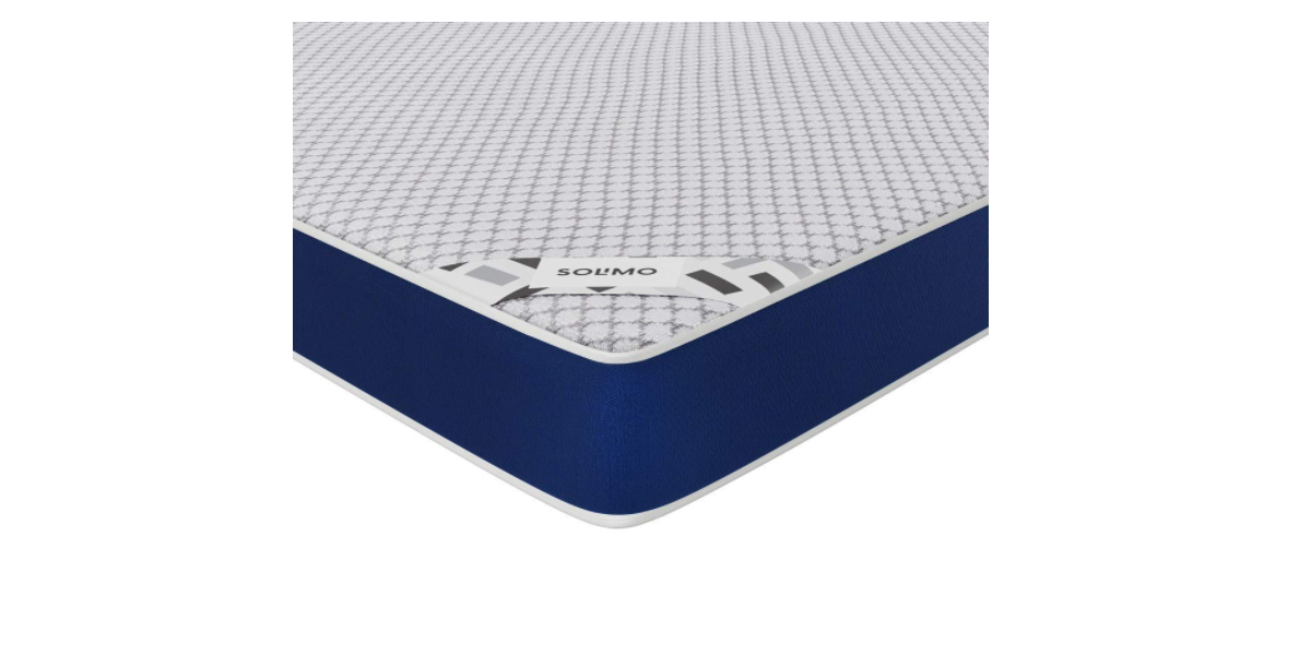 Amazon Brand - Solimo Orthopedic Memory Foam King Size Mattress