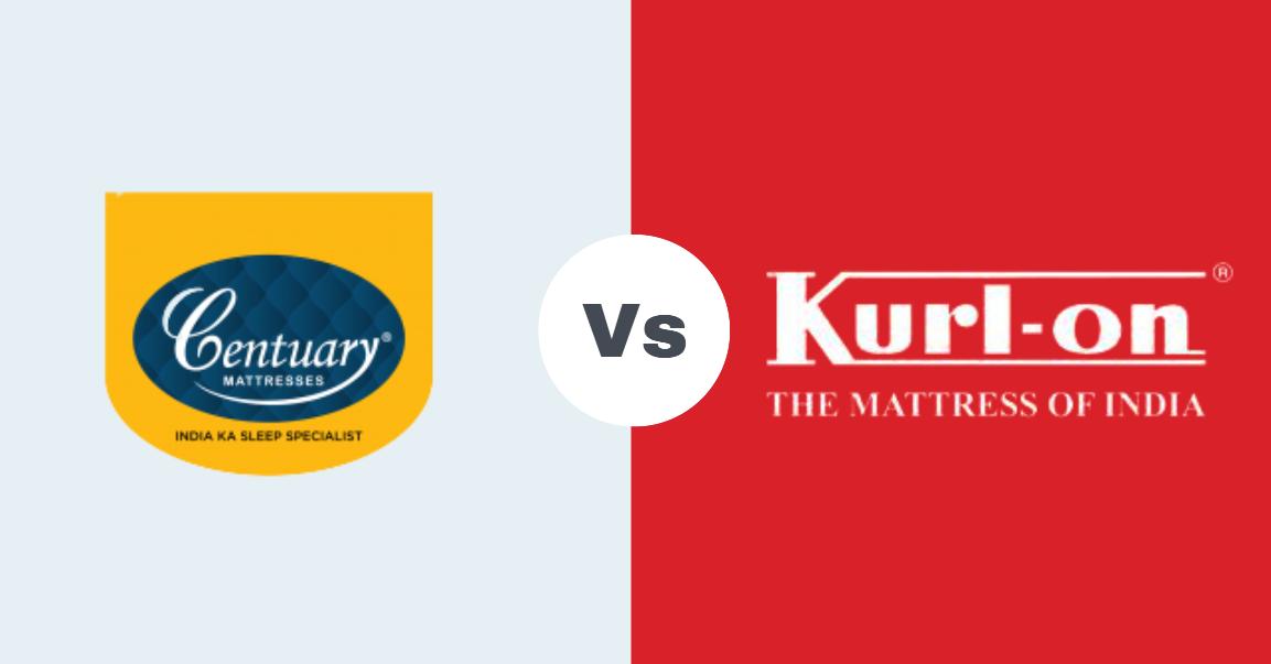 centuary vs kurlon mattress comparison