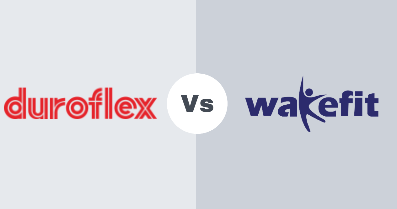 Duroflex Vs Wakefit Mattress