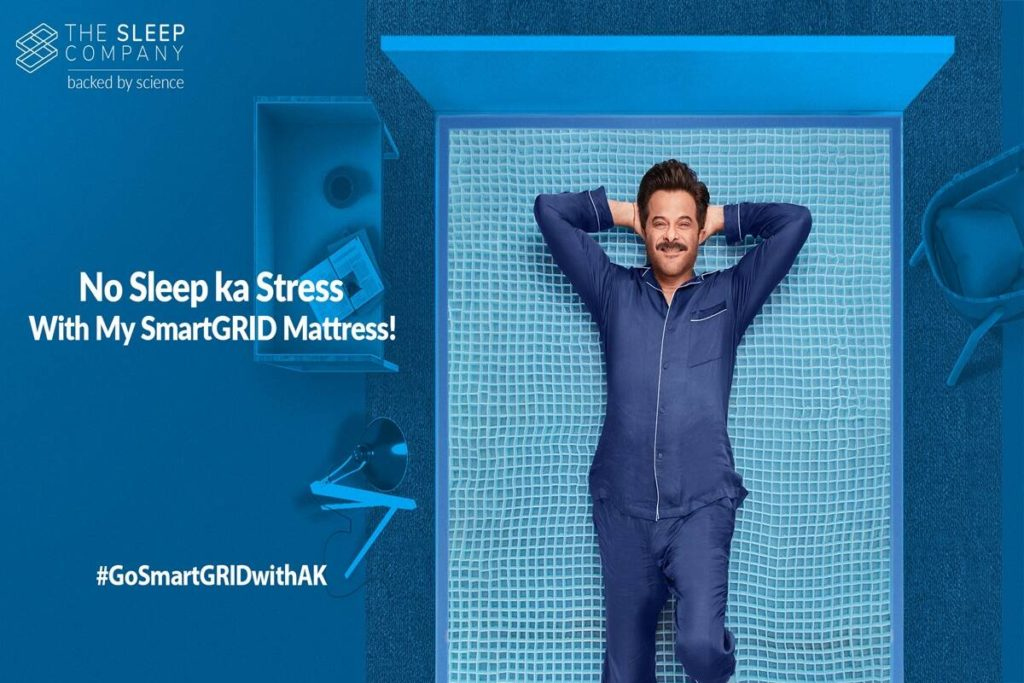 """Anil Kapoor Joins Hands As A Brand Ambassador For """"The Sleep Company."""" 2"""