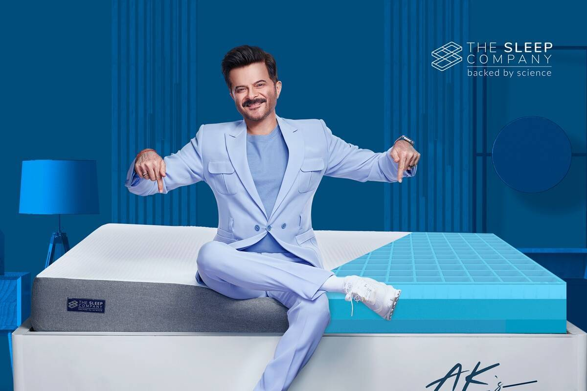"""Anil Kapoor Joins Hands As A Brand Ambassador For """"The Sleep Company."""" 1"""