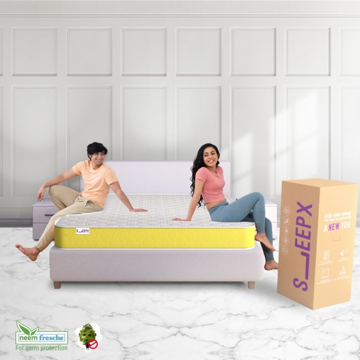 SleepX Promises Comfort to Couples with its Half Half Mattress 1
