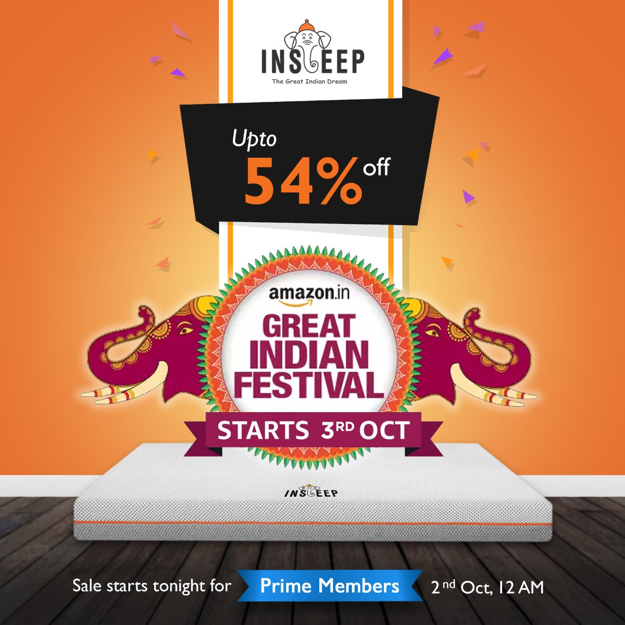Get Up To 54% Off On All Insleep Mattresses 1